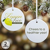 Personalized Logo Christmas Ornaments - 2 Sided - 15334