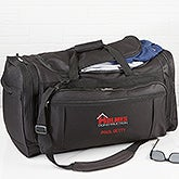 Corporate Logo Deluxe Weekender Embroidered Duffel Bag  - 15364