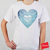 Personalized Apparel - We Love You To Pieces - 15365