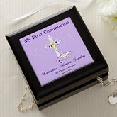 Personalized First Communion Jewelry Memory Box - 1537