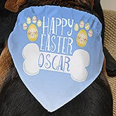 Personalized Spring Dog Bandana - Easter - 15373