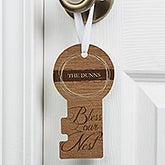Personalized Door Key - Bless Our Nest - 15374