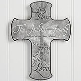 Personalized Wall Cross - Grow In God's Love - 15386