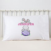 Personalized Easter Pillowcase - Bunny Love - 15390