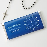 Personalized Religious Candy Bar Wrappers - God Bless - 15396
