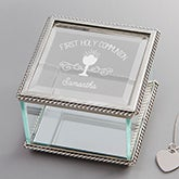 Personalized Religious Jewelry Box - First Communion - 15409