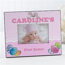 Personalized Easter Picture Frame - Bunny Love - 15440