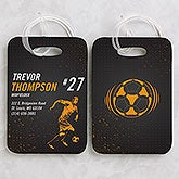 Personalized Luggage Tag Set - Sports Enthusiast - 15442