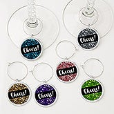 Cheers! Wine Charms 6 Piece Set - 15455