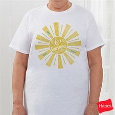 Personalized You Are My Sunshine Apparel - 15470