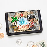 Personalized Wallet - Lil' Pirate - 15488