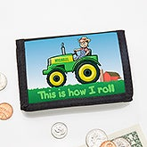 Personalized Wallet - Tractor Time - 15489