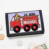 Personalized Wallet - Jr. Firefighter - 15490