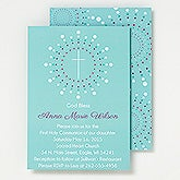 Personalized Religious Invitations - God Bless - 15506