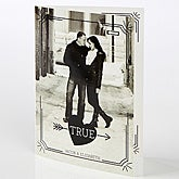 Personalized Photo Greeting Card - True Love - 15525