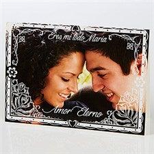 Personalized Spanish Photo Card - Heartfelt Impression - 15526