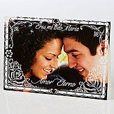 Personalized Spanish Photo Greeting Card - Heartfelt Impression - 15526
