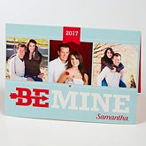 Personalized Photo Greeting Card - Be Mine - 15527