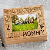 Personalized Photo Keepsake Box - Reasons Why - 15542