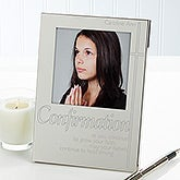 Personalized Religious Photo Frame - Confirmation - 15545