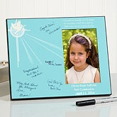 Personalized Religious Signature Frame - First Communion - 15546