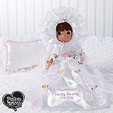 Personalized Precious Moments Christening Doll - 15552