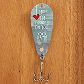 Personalized Fishing Lure - I'm Hooked On You - 15556