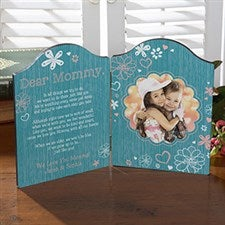 Personalized Photo Plaque - Dear Mommy - 15564