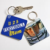 Personalized Key Ring - Sports Mom - 15576