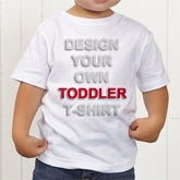 Design Your Own Personalized Toddler T-Shirt - 15596