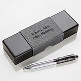 Personalized IT Pen Case And Stylus Pen Set - Signature Series - 15613