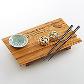 Personalized Sushi Board - Yin And Yang - 15616