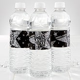 Personalized Graduation Water Bottle Label - Shining Star - 15618