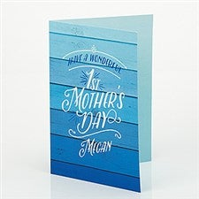 Personalized Mother's Day Greeting Card - First Mother's Day - 15627