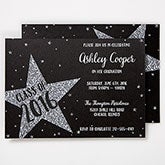 Personalized Graduation Invitations - Shining Star - 15629