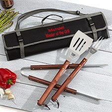 Personalized 3PC BBQ Tool Set - Grill Master - 15632