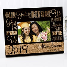 Personalized Graduation Frame - Our Future Is Before Us - 15633
