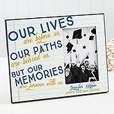 Personalized Graduation Frame - Memories Are Forever - 15634