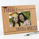Personalized Graduation Picture Frame - You Are More Capable - 15635