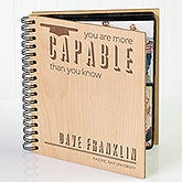 Personalized Graduation Photo Album - You Are More Capable Than You Know - 15636