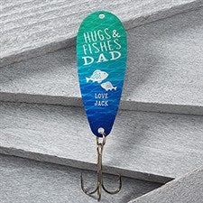 Personalized Fathers Day Fishing Lure