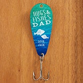 Personalized Father's Day Fishing Lure - Hugs & Fishes - 15649
