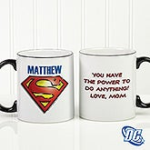 Personalized DC Comics Superman Coffee Mug - 15667