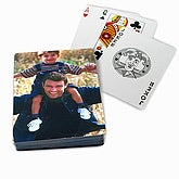 Personalized Photo Playing Cards - Picture Me Design - 1566D