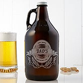 Personalized Beer Growler - Dad's Brewing Co. 64oz. - 15673