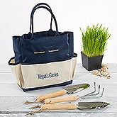 Personalized Garden Tote And Tools - My Garden - 15699