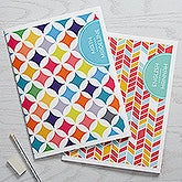 Personalized Subject Folders Set of 2 - Geometric Subjects - 15700