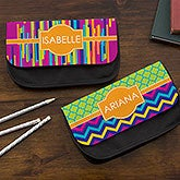 Personalized Pencil Case - Bright & Cheerful - 15712
