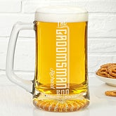 Engraved Groomsman Beer Mug - I Do Crew - 15761