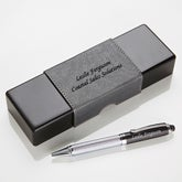 Personalized IT Pen Case and Stylus Pen Set - Classic Professional - 15779